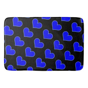 Heart Pattern Bath Mat Bath Mats