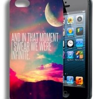 We Were Infinite Infinity Cute Inspirational Quote Iphone 4 Case