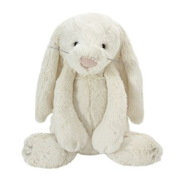 Large Cream Bashful Bunny Soft Toy