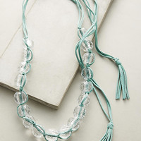 Beaded Lucite Necklace