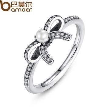 7 Original 925 Sterling Silver Delicate Sentiments Finger Ring Compatible with Pandora