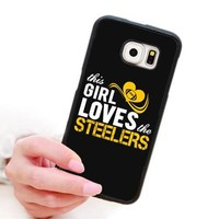 This Girl Loves The Steelers Phone Case For Samsung & iPhone