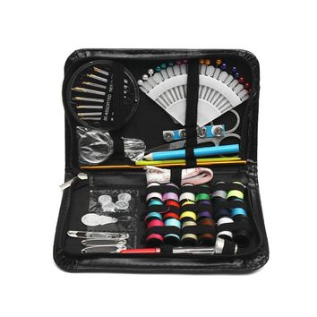 Original 87pcs Multi-function Sewing Box Kit Set for Quilting Stitching Hand Sewing Home and Travel