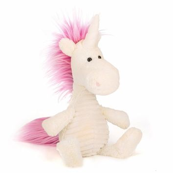 Lazada 35CM Unicorn Plush Toy Soft Stuffed Cartoon Unicorn Dolls Animal Horse High Quality Gift for Children