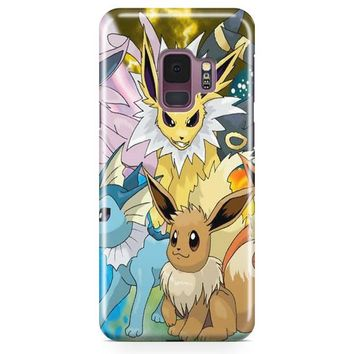 Pokemon Eevolution Samsung Galaxy S9 Case | Casefantasy