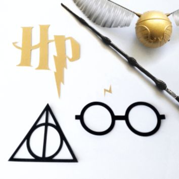 Harry Potter Set SVG File Cutting Template - Appliqué Geek
