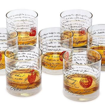 Founding Fathers Whiskey Glases