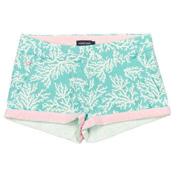 The Brighton Printed Reef Short in Antigua Blue by Southern Marsh - FINAL SALE