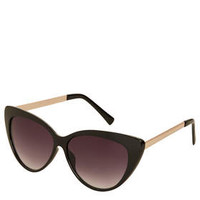 ANGULAR CATEYE SUNGLASSES