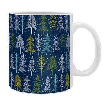 Heather Dutton Oh Christmas Tree Midnight Coffee Mug