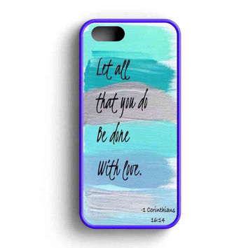 Christian Quotes Bible iPhone 5 Case iPhone 5s Case iPhone 5c Case