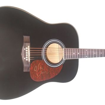 Keith Urban Autographed Full Size 41 Inch Country Music Acoustic Guitar, Proof Photo