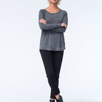 VOLCOM Lived In Burnout Womens Tee | Tops