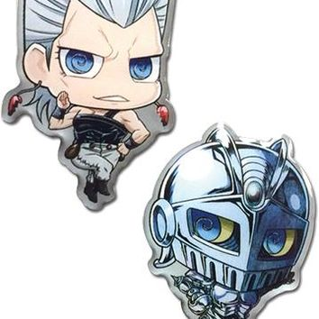 Polnareff & Silver Chariot - Pin Set - Jojo's Bizzare Adventure