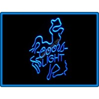 Coors Light Beer Bar Pub Restaurant Neon Light Sign