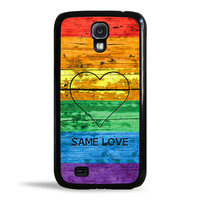 LGBT Same Love Rainbow Flag Case for Samsung Galaxy S4