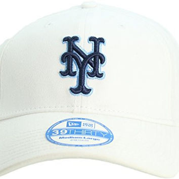 NEW ERA New York Mets 39Thirty Men's Adult Flex Fit Cap Hat M/L