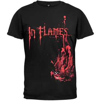 In Flames - Splattered Phoenix T-Shirt