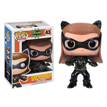Catwoman 1966 Batman TV Series Pop Heroes Vinyl Figure
