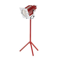 Stage Left Desk Lamp in Red