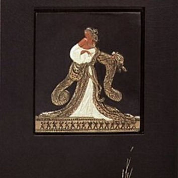 Rigoletto (Bronze) Bas Relief & Signed Book, Limited Edition Sculpture, Erté