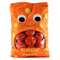 Yummy World XL Cheesy Puffs Food Plush