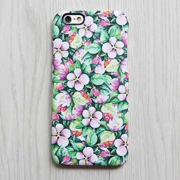 Chic Floral iPhone 6s Case | iPhone 6 plus Case | iPhone 5 Case | Galaxy Case 3D 073