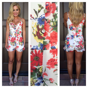 Floral Love Affair Romper