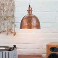 Cupola Copper Pendant Light