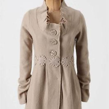 Anthropologie Alice in Autumn Sweater Coat Sz XS  By Charlie & Robin - NWOT