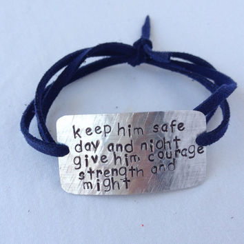 Police Wife Bracelet Firefighter Keep Him Safe Day And Night