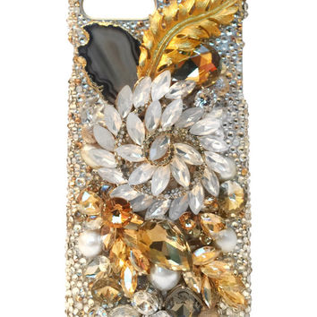 Genuine Swarovski iPhone 7 Plus Case - ELLE