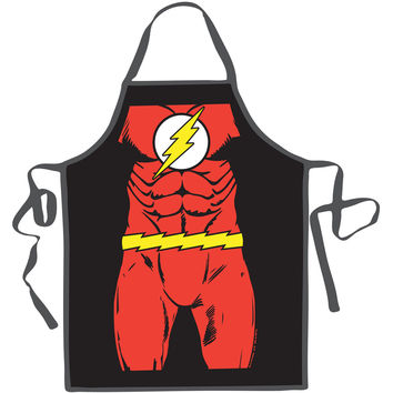 Flash Flash Apron Red
