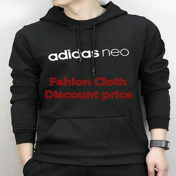 adidas Originals Sweater Trefoil Black Hoodie