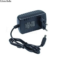 1PCS 12V2A AC 100V-240V Converter Adapter DC 12V 2A 2000mA Power Supply EU Plug 5.5mm x 2.1mm for LED CCTV Free shipping