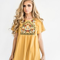 Sunny Garden Embroidered Top - JessaKae