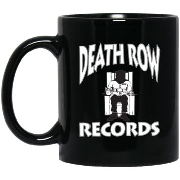 Death Row Records-01 BM11OZ 11 oz. Black Mug
