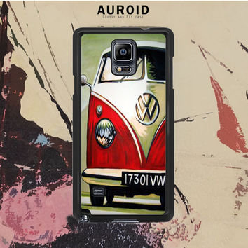 Vw Art Samsung Galaxy Note 4 Case Auroid