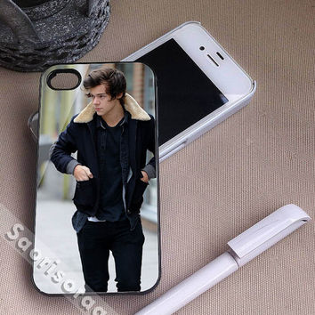 Harry Styles One Direction for iPhone 4, iPhone 4s, iPhone 5, iPhone 5s, iPhone 5c, Samsung Galaxy S3, Samsung Galaxy S4 Case