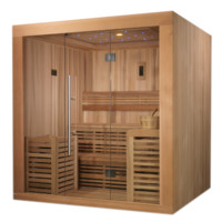 Steam Sauna 4-6 Person Oslo Edition