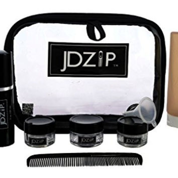 Quality Durable TSA - 10 piece men's carry-on travel toiletry bag - By LollyZip