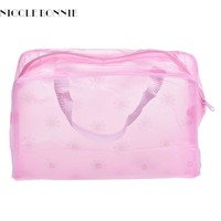 Bolsas Portable Makeup Cosmetic Toiletry Travel Wash Toothbrush Pouch Organizer Bag Free Shipping Nov22