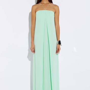 Olly Seafoam Green Loose Fit Maxi Dress