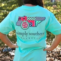 Preppy State Tee - Tennessee