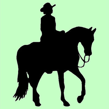 Western Pleasure rider, customizable and with FREE SHIPPING