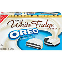 Walmart: Oreo Pure White Fudge Covered Sandwich Cookies, 8.5 oz