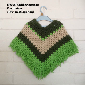 poncho, crochet poncho, kids wear,Kid's ponchos, childrens clothes, shawls, wraps, kids clothes, girl's knitted poncho, mexican poncho