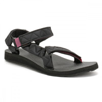 Teva Womens Black Original Universal Puff Sandals