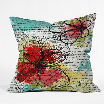 Irena Orlov Couple Throw Pillow