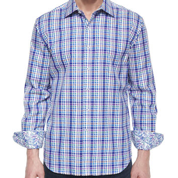 Bowfin Multi-Gingham Sport Shirt,
